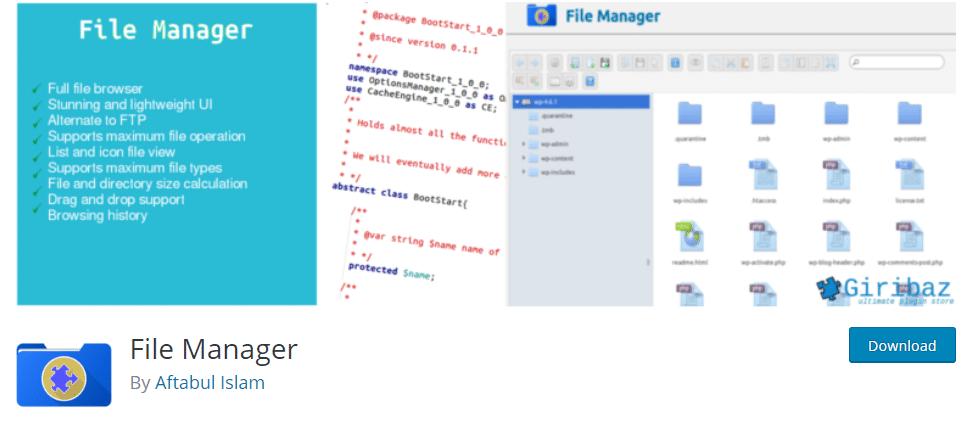 best-wordpress-plugins-free-file-manager-plugin