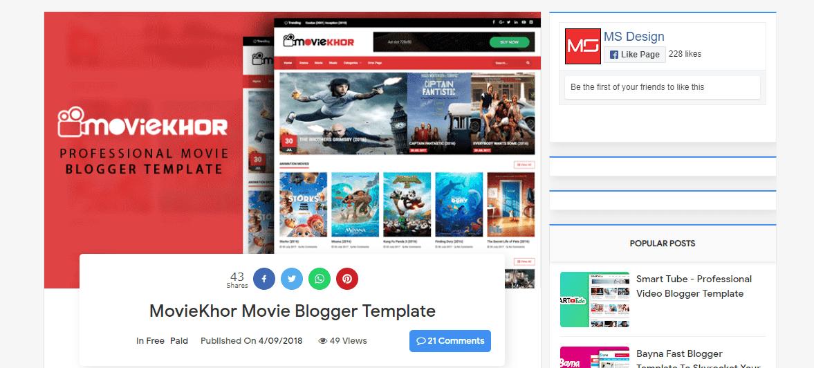free_blogger_templates_moviekhor