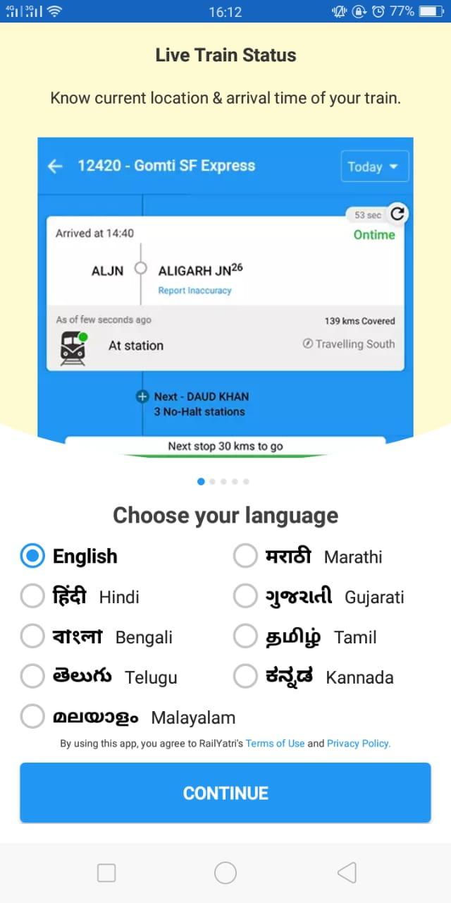 pnr-status-in-hindi_railyatri_language_panel