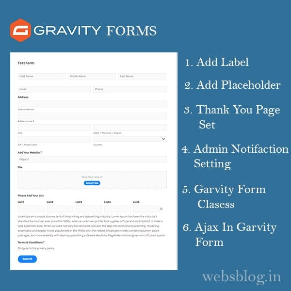 How-to create gravity form in wordpress in hindi