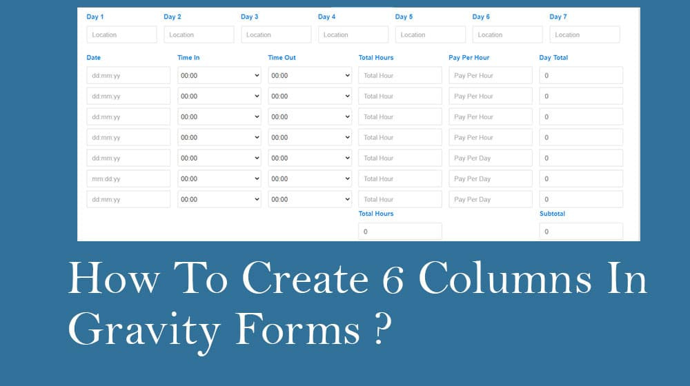 how-to-create-multiple-columns-in-gravity-form